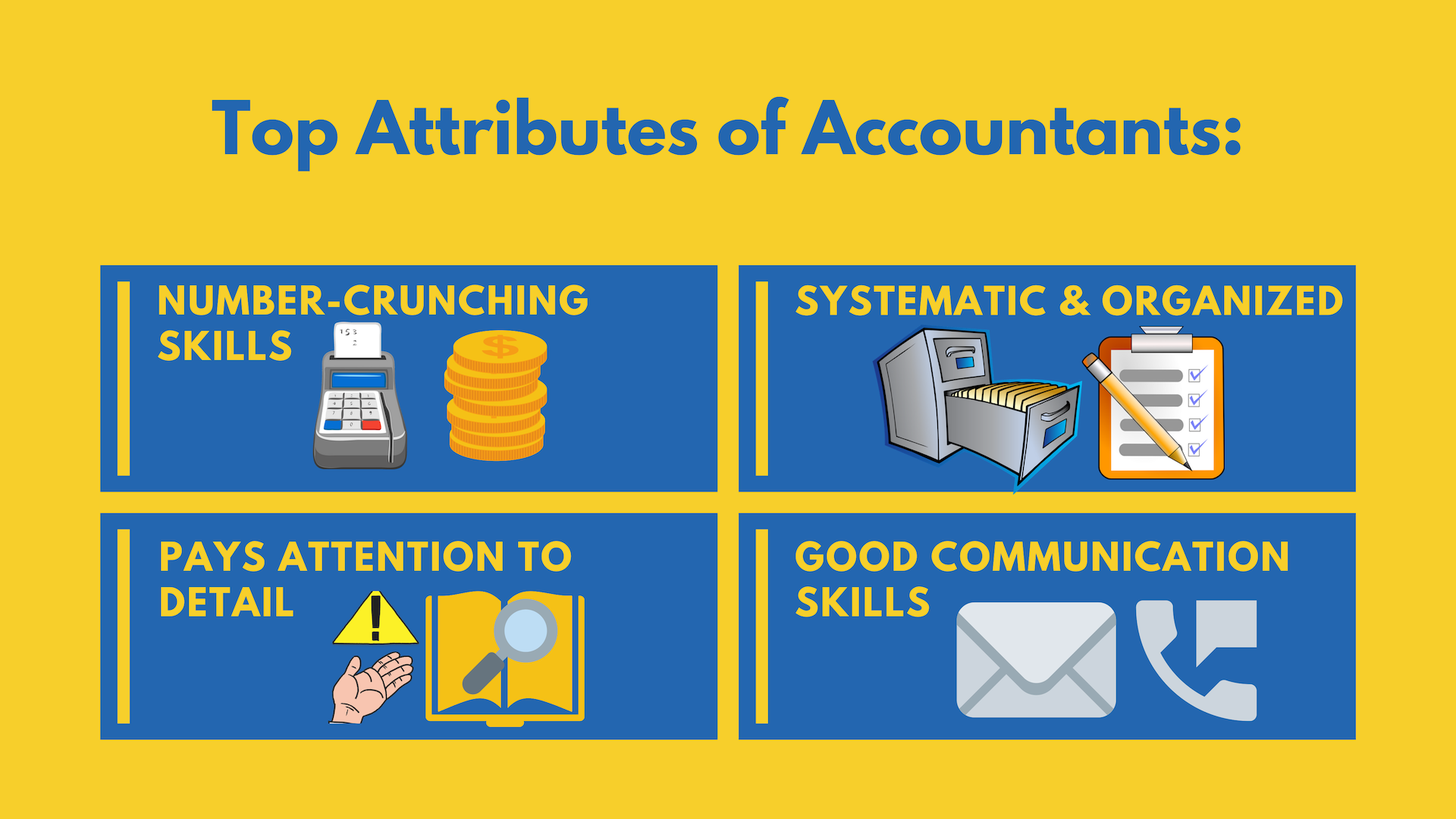 top attributes of accountants