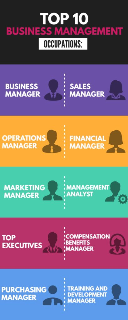 business management career guide occupations