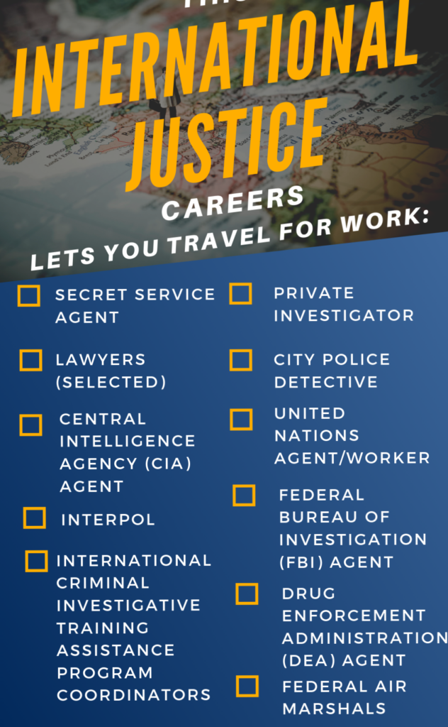 international criminal justice careers