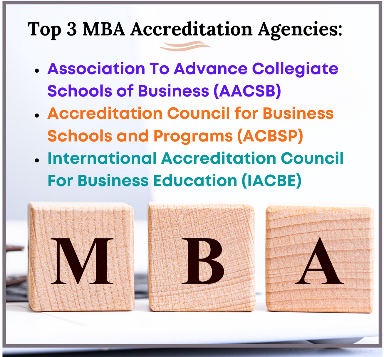 MBA accreditation fact 2