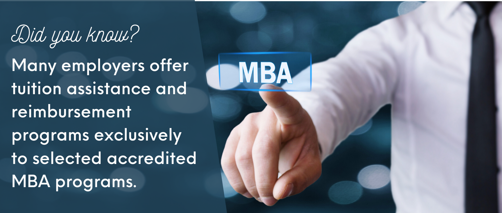 MBA accreditation fact 5
