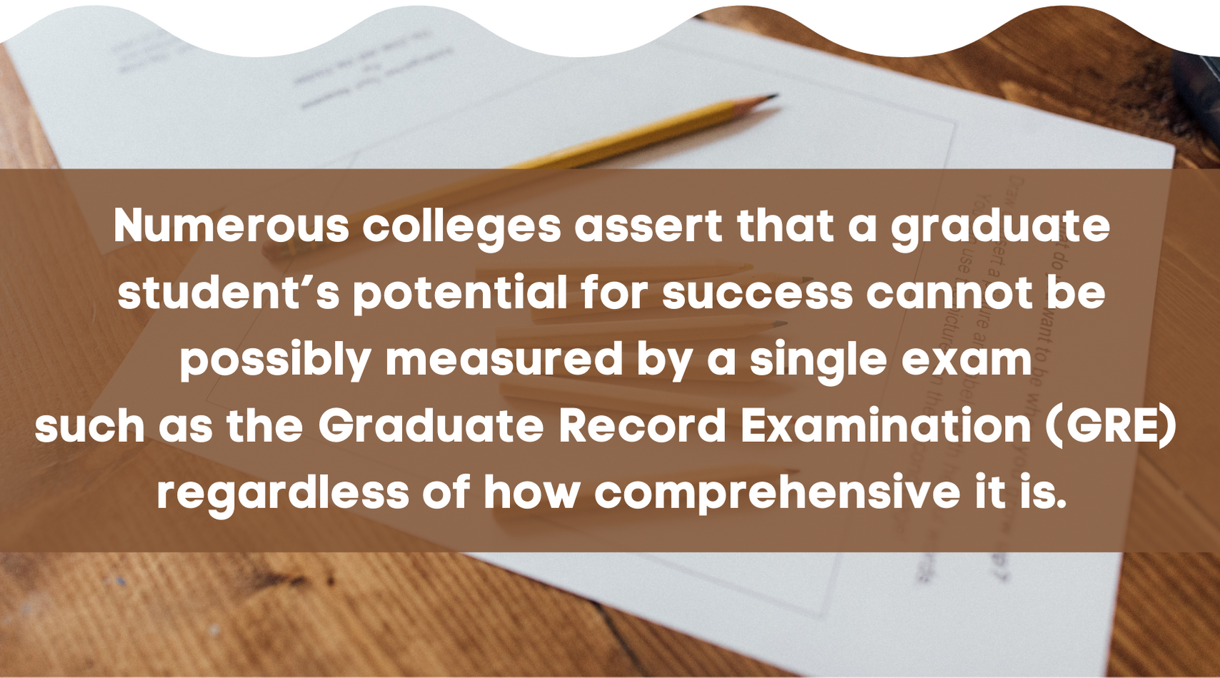 Non-GRE Colleges fact 4