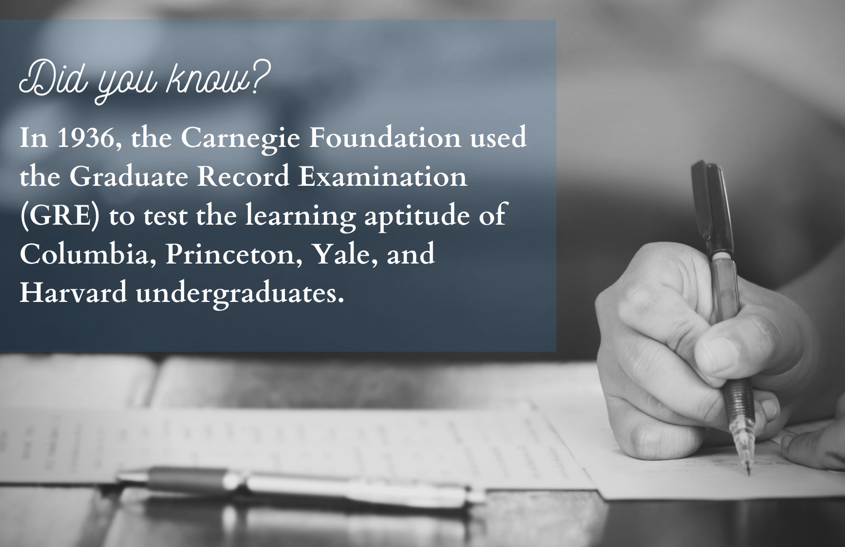 Non-GRE Colleges fact 5