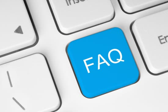 FAQ button on keyboard with soft focus