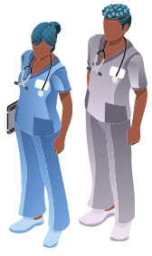 healthcare workers concept