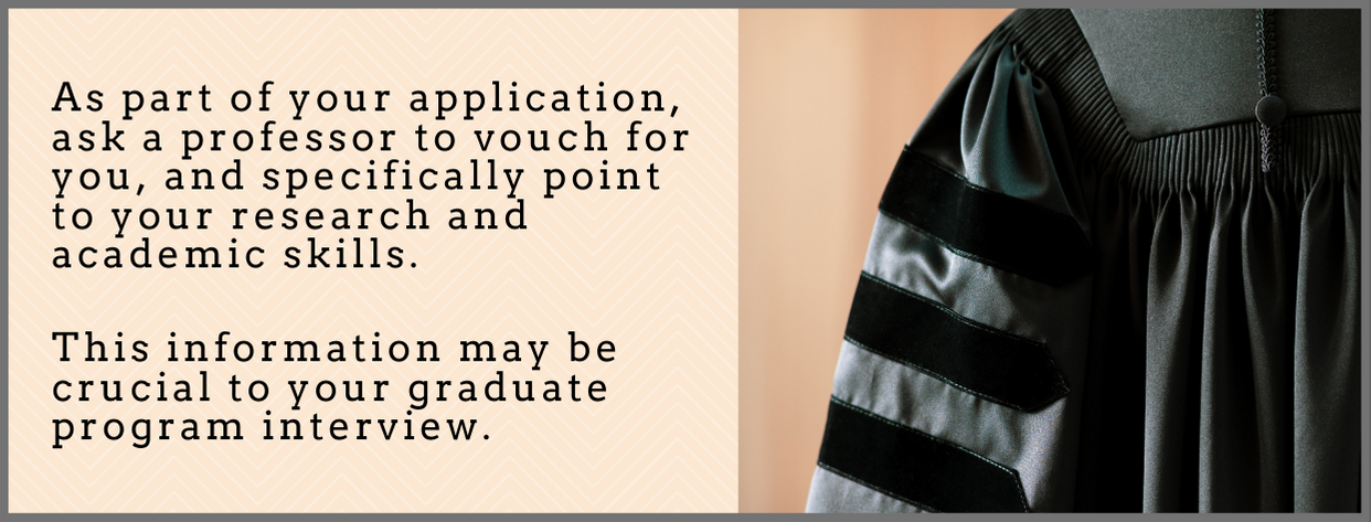 Grad School Interview fact 3