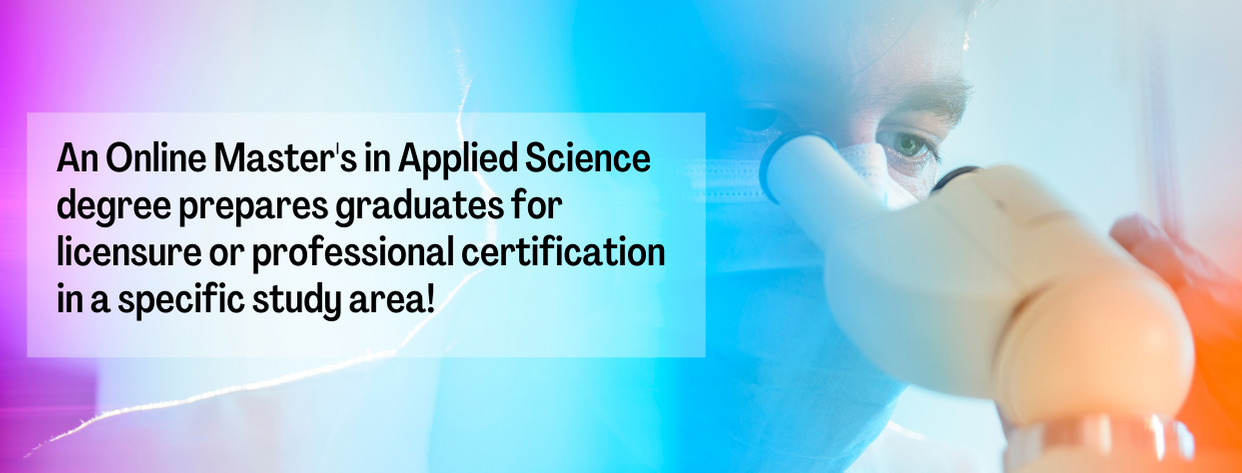 Online Master of Applied Science fact 2
