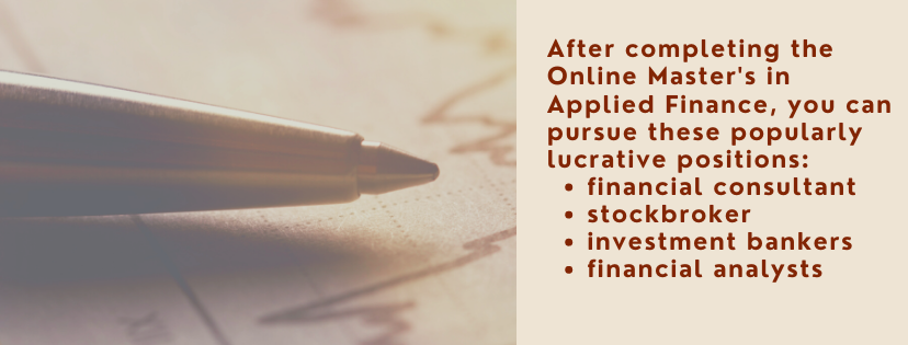 Online Master's in Applied Finance fact 2