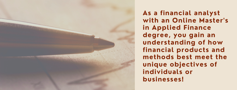 Online Master's in Applied Finance fact 3