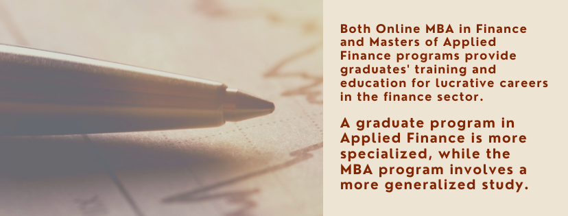 Online Master's in Applied Finance fact 4