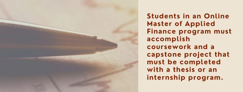 Online Master's in Applied Finance fact 5