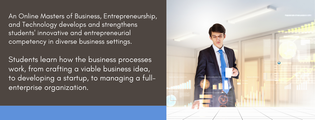 Best Masters of Business Entrepreneurship and Technology -fact 1