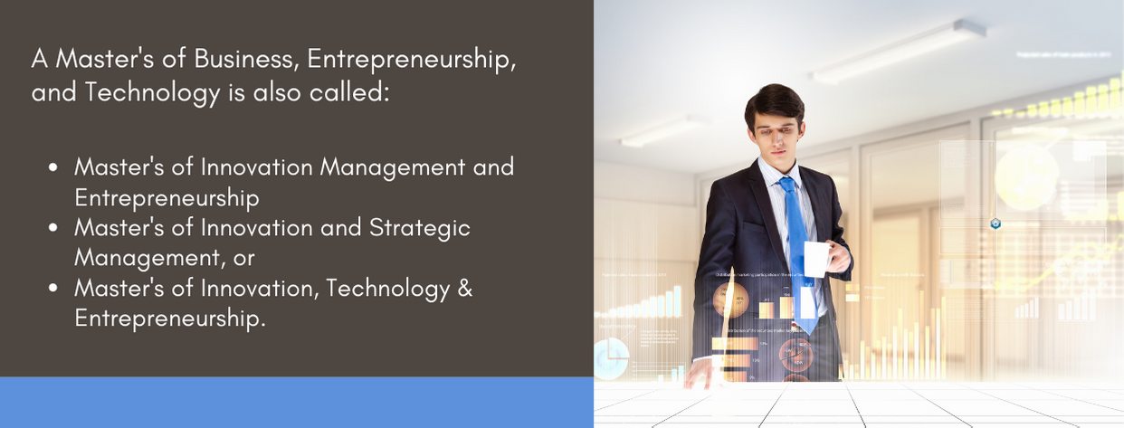 Best Masters of Business Entrepreneurship and Technology - fact 2