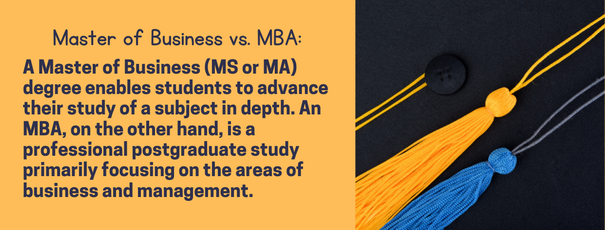 Best Masters of Business - fact 3