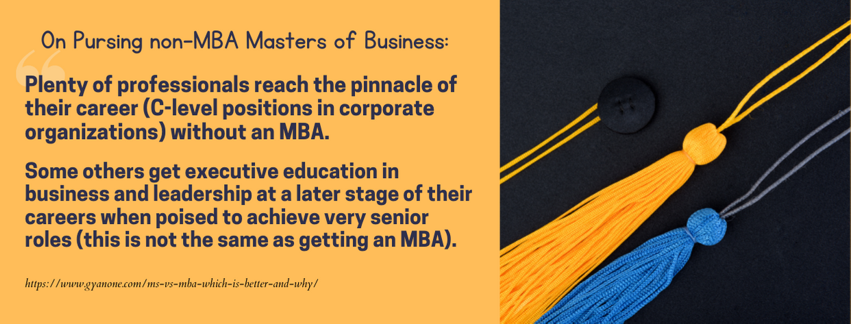 Best Masters of Business - fact 5