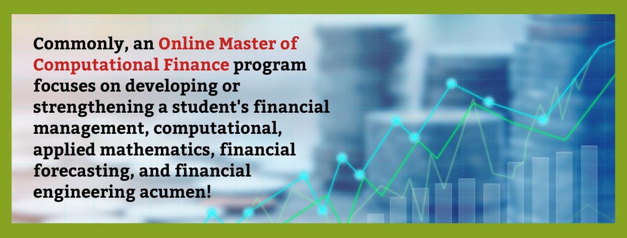 Best Online Master of Computational Finance fact 1