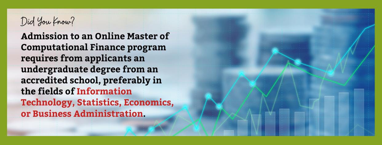 Best Online Master of Computational Finance fact 3