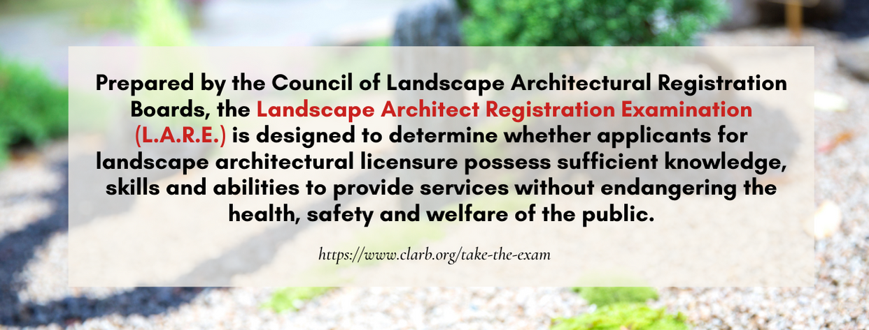 Master's Landscape Architecture fact 3