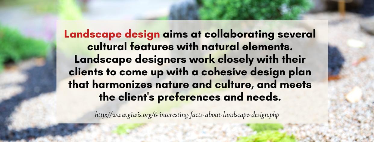 Master's Landscape Architecture fact 5