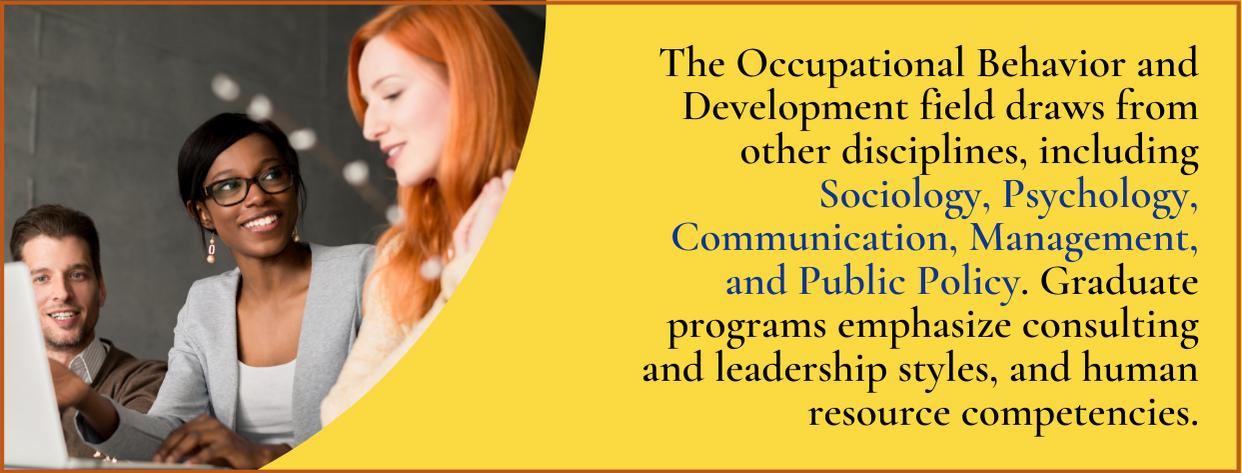 Master's of Organizational Behavior and Development fact 5
