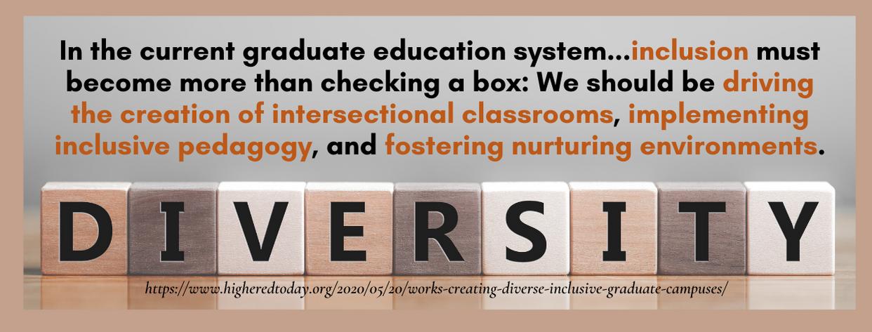 Grad School Diversity - fact 4