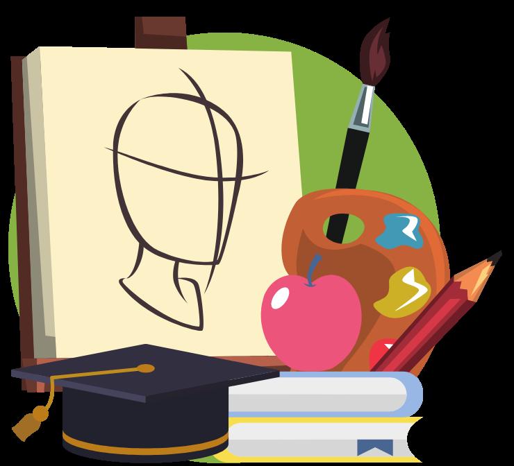 Best Online Masters of Fine Arts Graduate Schools - Divider