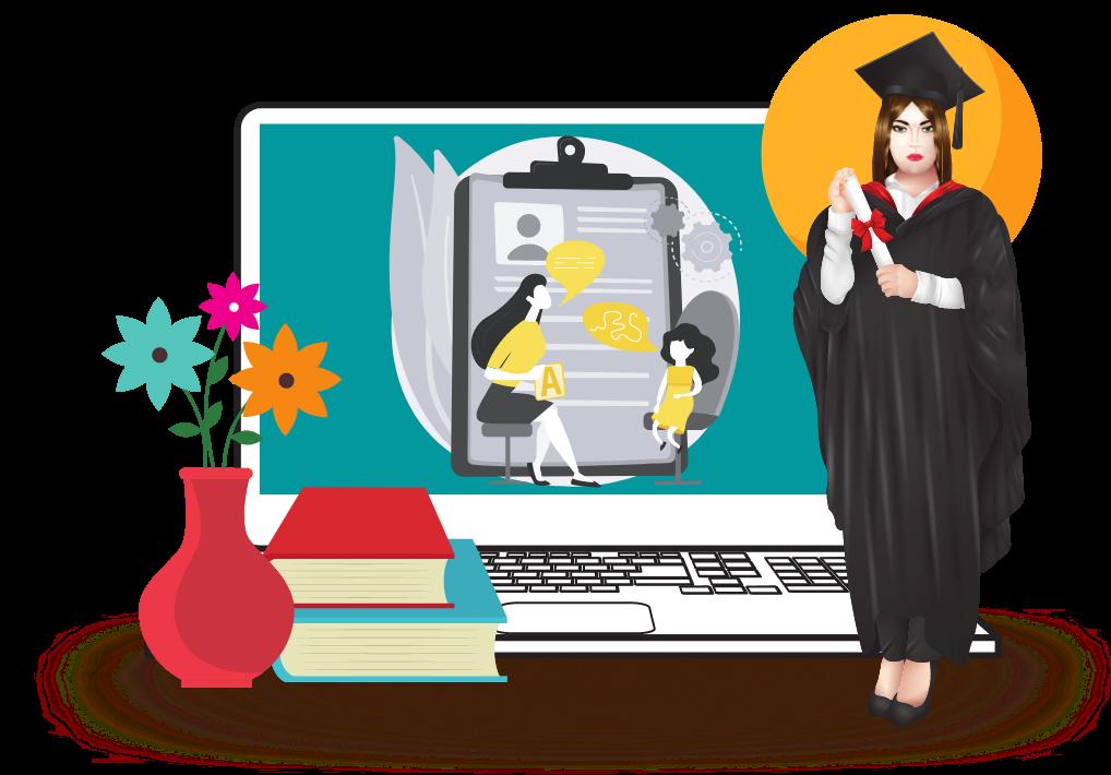 Best Online Masters of Speech Pathology Graduate Schools - Divider
